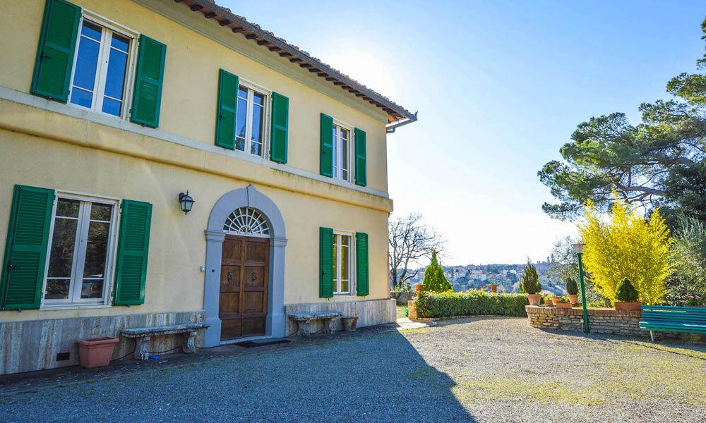 Villa Siena Tuscany Italy