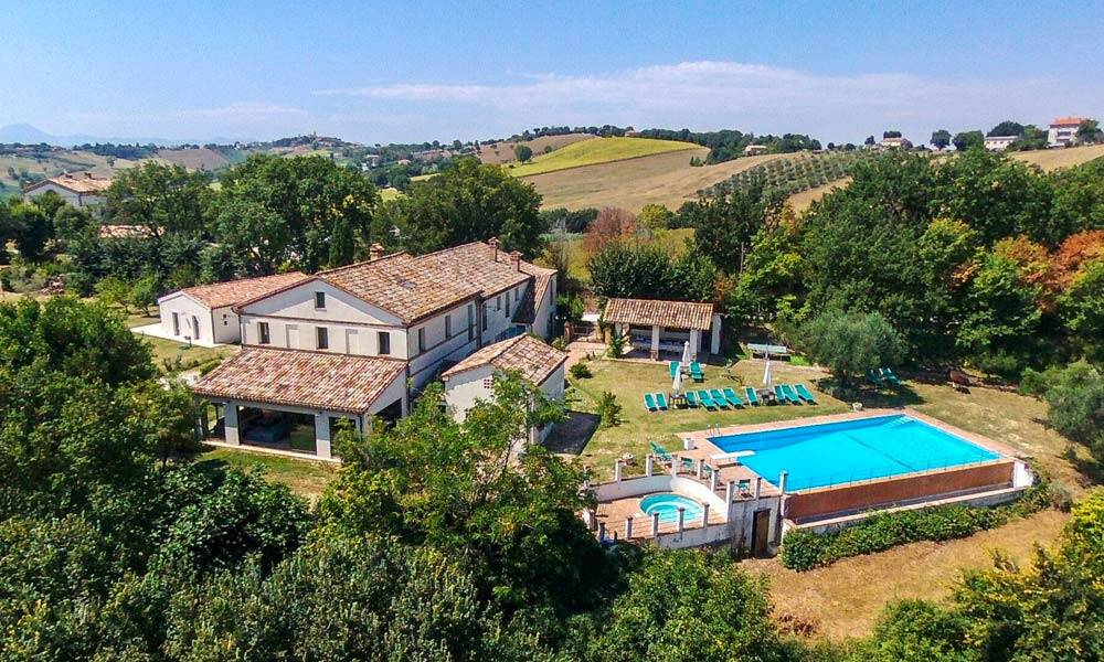 Country Home Belvedere Ostrense Marche Italy