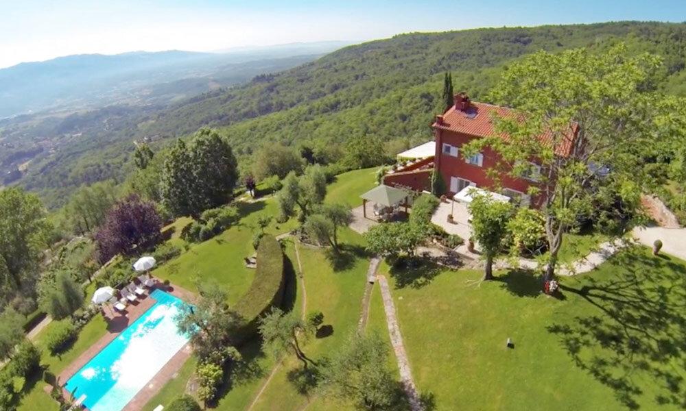 Villa Florence Tuscany Italy