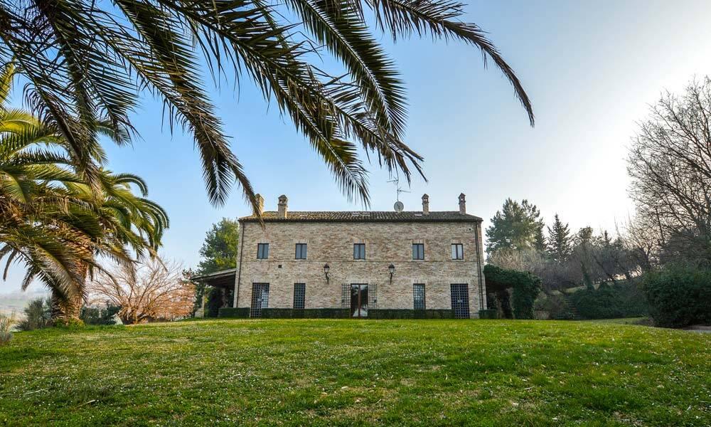Villa Senigallia Marche Italy