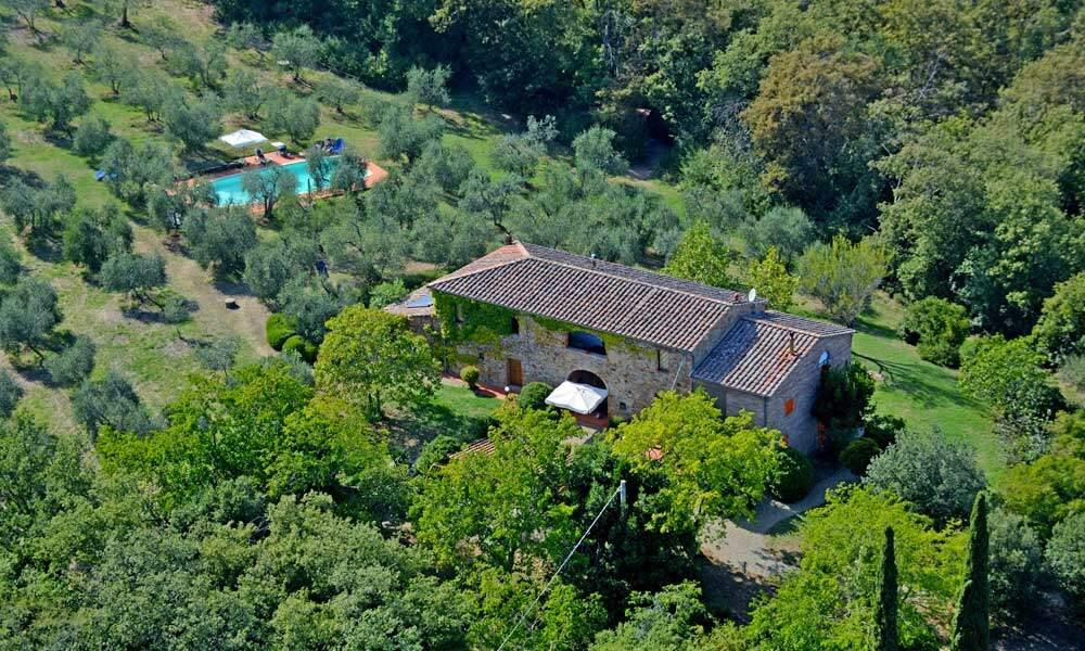 Tuscany Siena Sinalunga Farmhouse