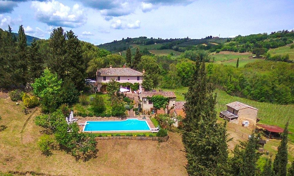 Luxury Country Villa in Tuscany, San Gimignano