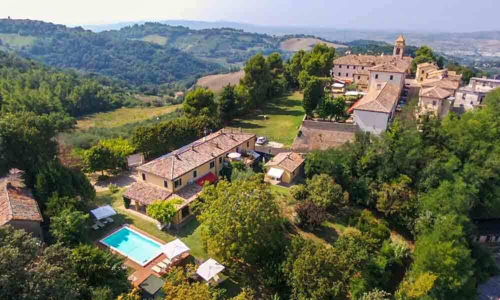 Villa Pesaro Marche Italy