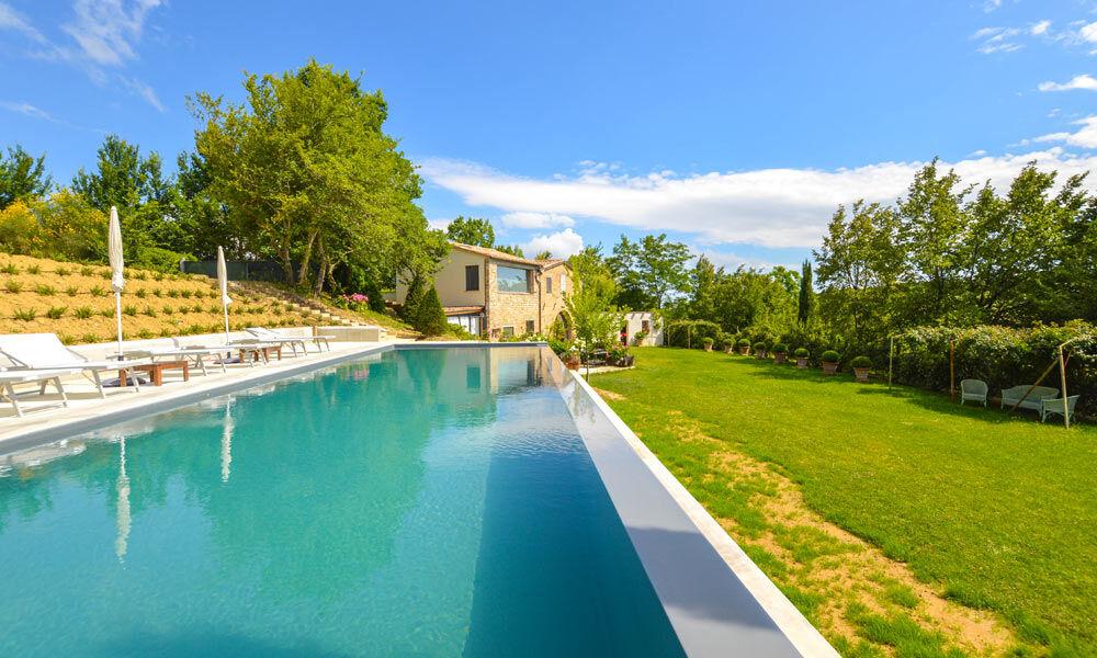 Villa San Ginesio Marche Italy