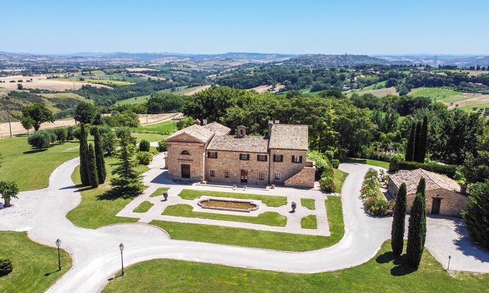 Monastery Treia Marche Italy Luxury