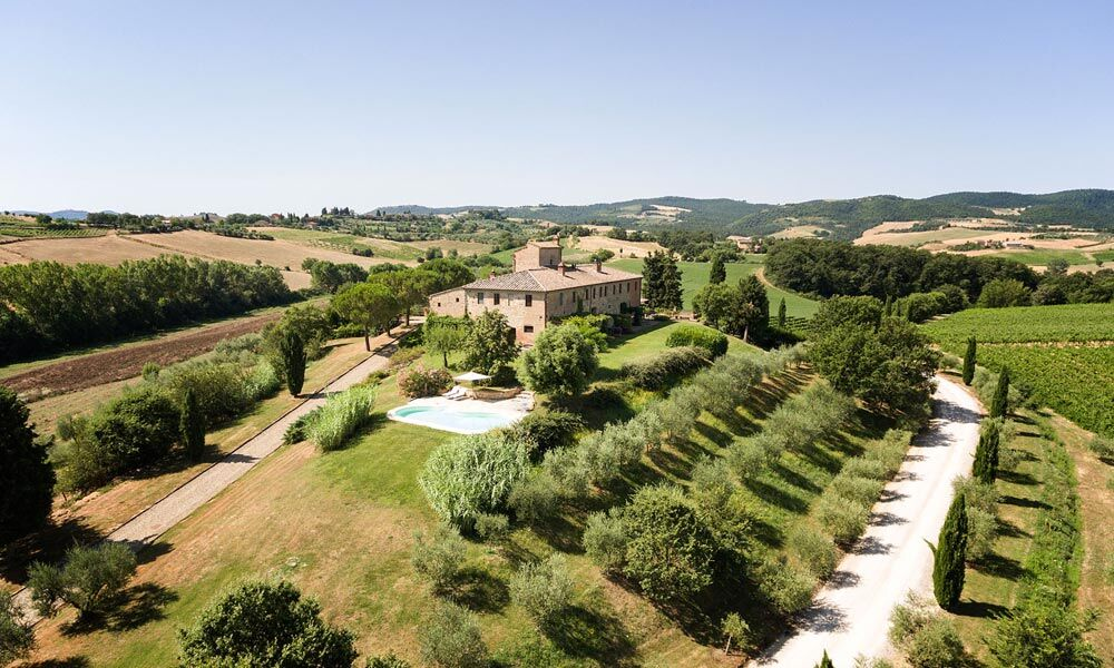 Luxury Farmhouse Tuscany Siena Italy