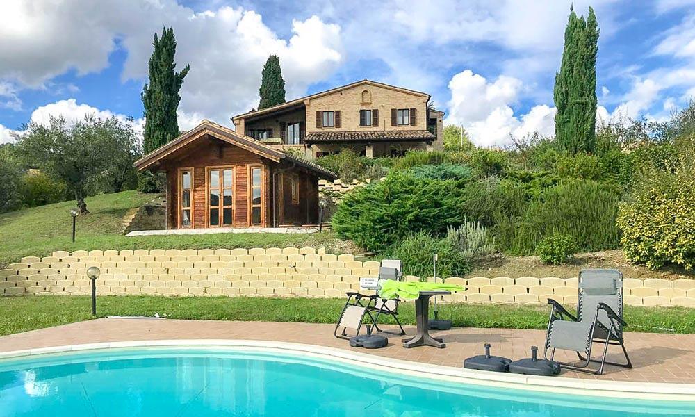 Farmhouse Marche Italy Loro Piceno