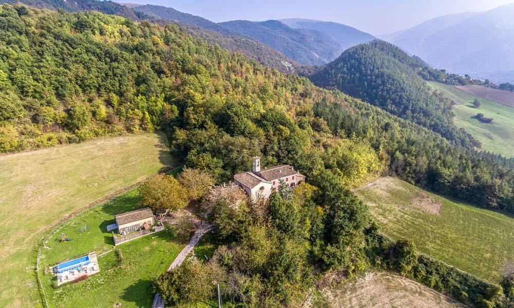 Luxury Monastery Marche Italy Urbania