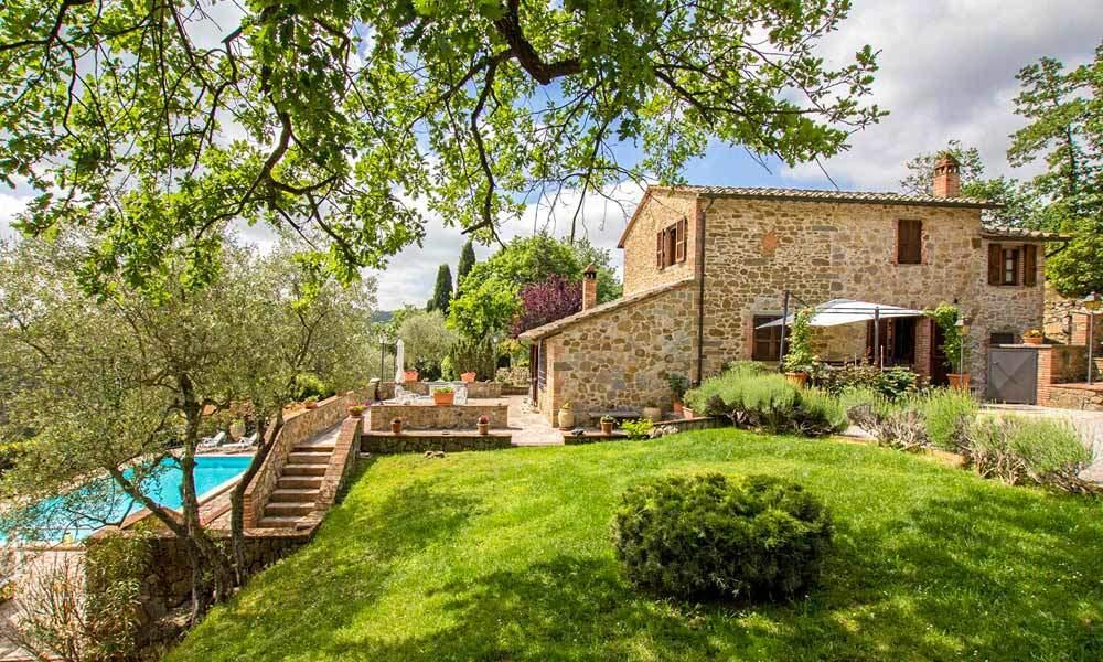 Luxury Farmhouse Sinalunga Tuscany Italy