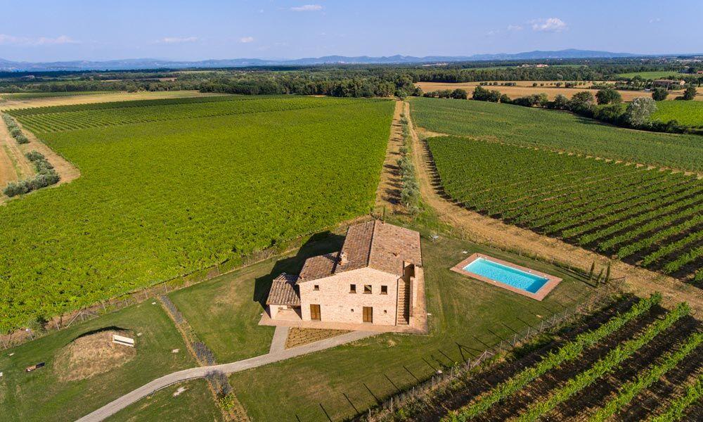 Farmhouse Cortona Tuscany Italy