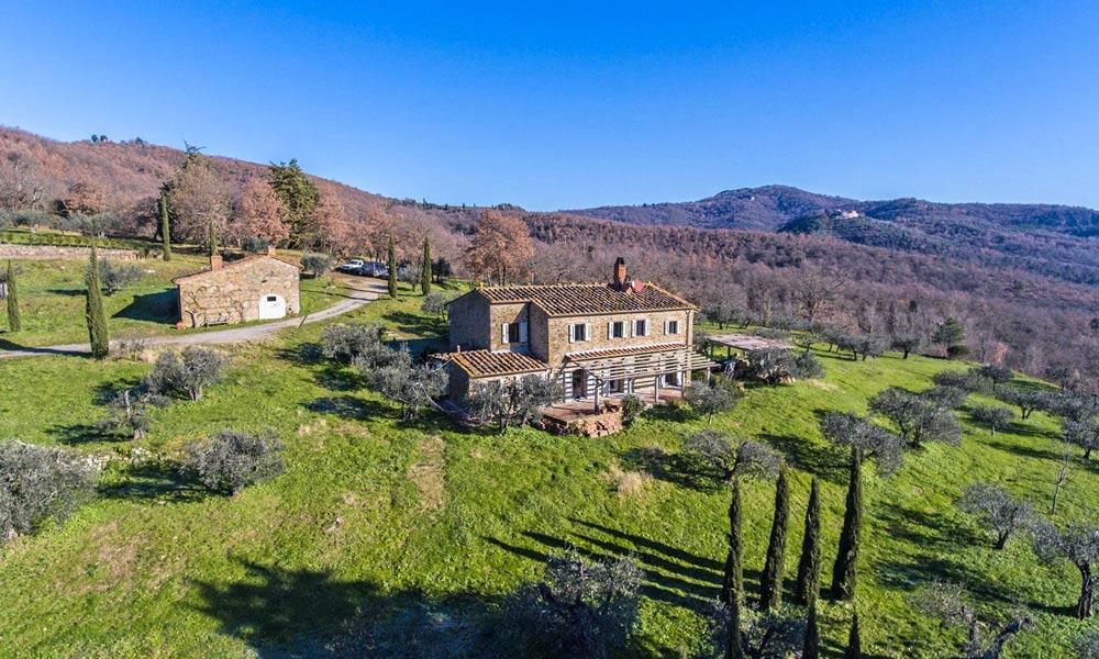 Famrhouse Pergine Valdarno Tuscany Italy