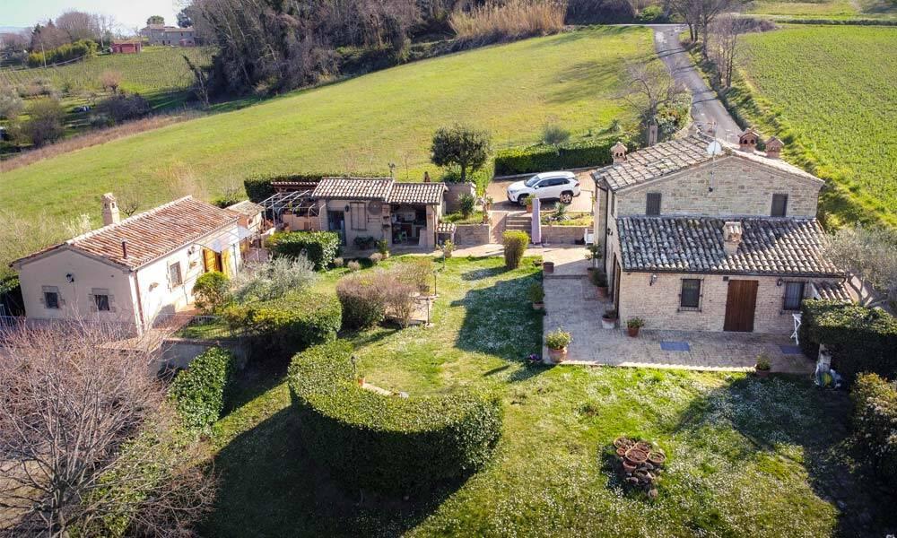 Farmhouse Rosora Marche Italy